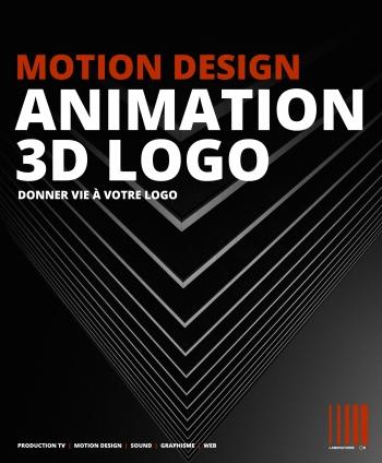 ANIMATION DE VOTRE LOGO EN 3D